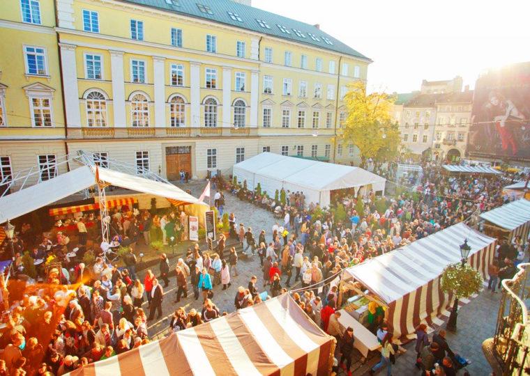 Фестивалі До Львова на сир та вино