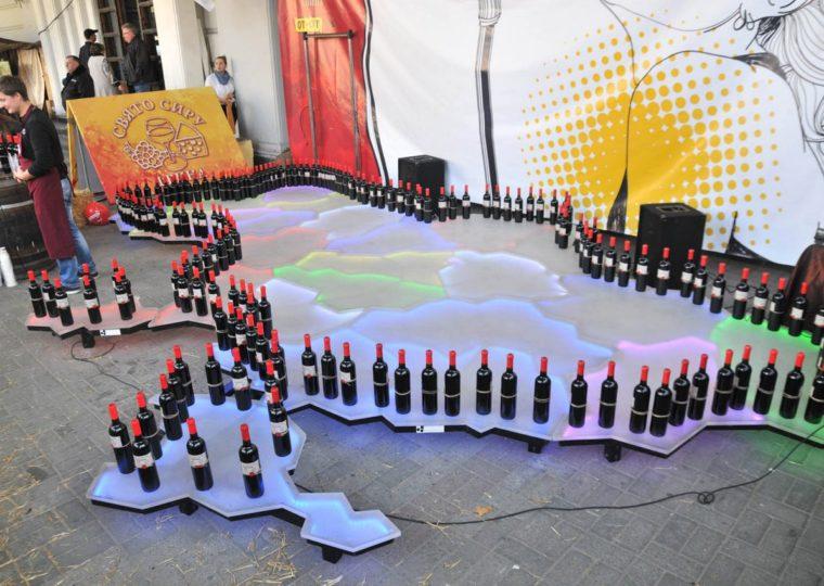 Фестивали Во Львов на сыр и вино