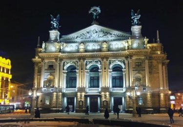 Оперный театр во Львове. Must see