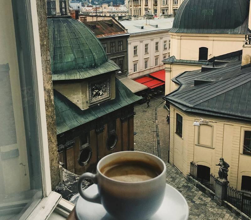 Как появился кофе во Львове