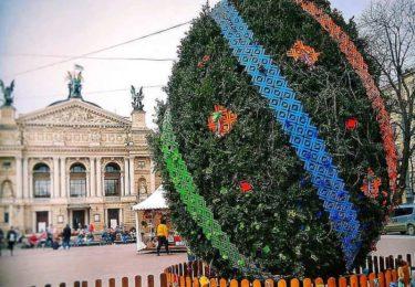 Пасхальная ярмарка во Львове